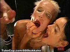 666Bukkake Video: Piss And Sperm Explosion