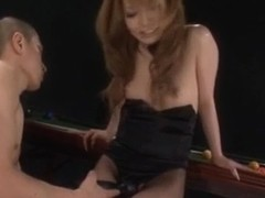 Sena Aragaki has fishnets cut to get sex toys in ass an