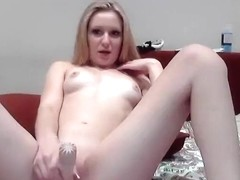 Kissaa93 playing with a vibrator