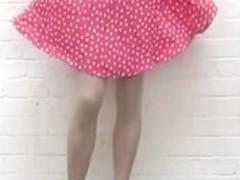 fly skirt nude pantyhose