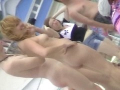 Nude beach sexy redhead voyeur video for download