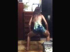 Fantastic wazoo popping web camera panty movie scene