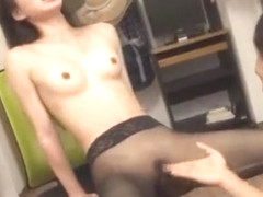 Incredible Japanese whore Kanon Takigawa in Horny Stockings/Pansuto, Fetish JAV movie