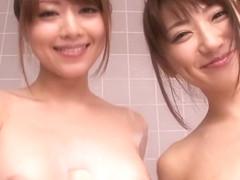 Akiho Yoshizawa, Saki Kozai in Beautiful Sisters part 5