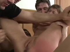 Boys touching milf crotch