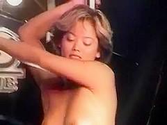 Short Hair Asian Double Striptease