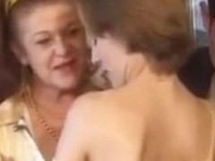 2 aged Latinas do anal and acquire facual cumshots