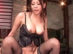 Mugi Kaoru Uncensored Hardcore Video with Creampie, Dildos/Toys scenes