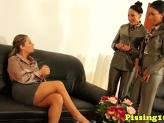### fetish glamcore skanks threeway lesbian sex