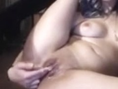 Incredible Webcam movie with Big Tits, Lesbian scenes