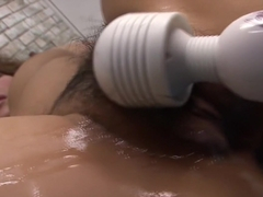 Crazy Japanese slut Akiho Nishimura in Amazing JAV uncensored Big Tits movie