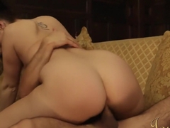 Big ass maid gets fucked in uniform