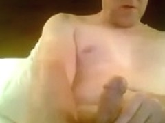 Cock Cumming on camera