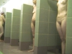 Hot Russian Shower Room Voyeur Video  37
