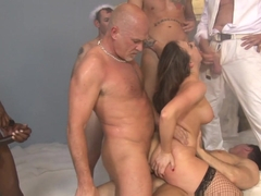 Best pornstars Chanel Preston, Wesley Pipes in Exotic DP, Gangbang adult scene