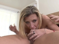 Horny pornstar Sara Jay in Crazy Blowjob, Big Tits sex scene