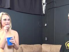 Hottest pornstars Brynn Jay, Charlee Monroe in Best Small Tits, College xxx scene