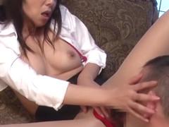 Kimika Ichijo in Plump Tan Milf part 5