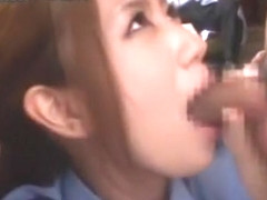 Exotic Japanese chick in Amazing Big Tits, Stockings/Pansuto JAV video