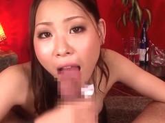 Incredible Japanese chick Anjie Esuwan in Fabulous JAV censored Fetish, College movie