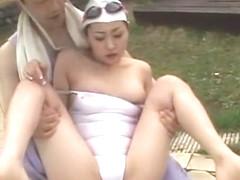 Horny Japanese slut Yu Kanata in Best JAV movie