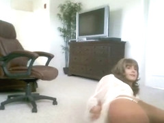 Incredible homemade shemale video with Stockings, Solo scenes