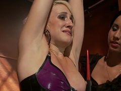 Fabulous fetish sex movie with horny pornstars Isis Love and Dylan Ryan from Wiredpussy