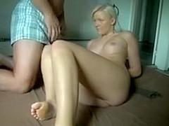 Russian bitch anal homemade bondage