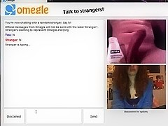 see rod while jizz on OMEGLE