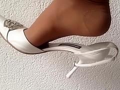 Wonderful dangling luxury high heels