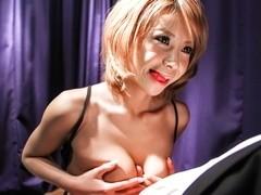 Crazy Japanese chick Sumire Matsu in Amazing JAV uncensored Big Tits movie