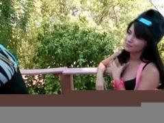 Sexy hot babe Ava Dalush wants to fuck