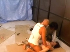 Asian video with sexy bitch plugged by two veiny choppers