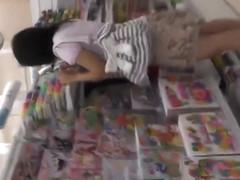 Lovely Japanese girl exposes her underwear