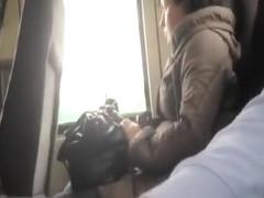 Man flashes and masturbates in the public transportation