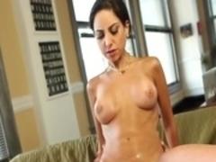 Crazy pornstar Trinity St. Clair in amazing brunette, cumshots porn scene