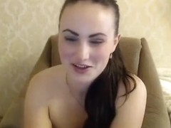 Naked beauty Missslady in front of webcam