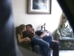 Extremely arousing spy cam sex video