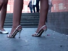 That white skirt is an awesome thing to film under