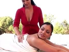 Best pornstars Jelena Jensen and Aria Giovanni in hottest brazilian, outdoor porn scene
