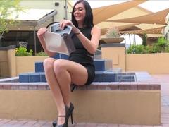 Horny pornstar in Crazy College, Masturbation xxx video