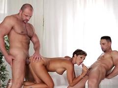 Horny pornstar Gabrielle Gucci in Best Bisexual porn scene