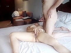 UK Cock For Asian Poon