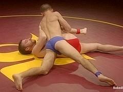 NakedKombat Jacques Le Cock LaVere vs Sebastian The Tiger Keys Oil Match
