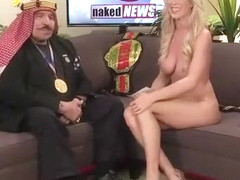 21st century interview show with beautiful naked babes