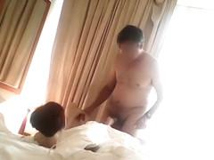Asian hooker enjoys pleasuring an American dick