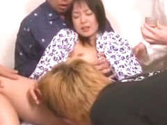 Fabulous Japanese chick Nana Nanaumi in Horny Hardcore, Cunnilingus JAV scene