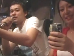 Horny Japanese whore Ai Takeuchi in Amazing Gangbang, Reality JAV video