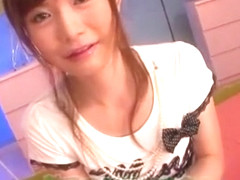 Horny Japanese girl Rei Kiyomi in Incredible POV, Swallow/Gokkun JAV video