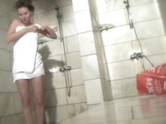 Hot Russian Shower Room Voyeur Video  5
